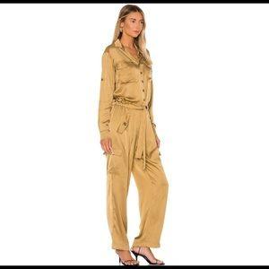 🆕 Birgitte Herskind Sky Jumpsuit in Camel Size 8